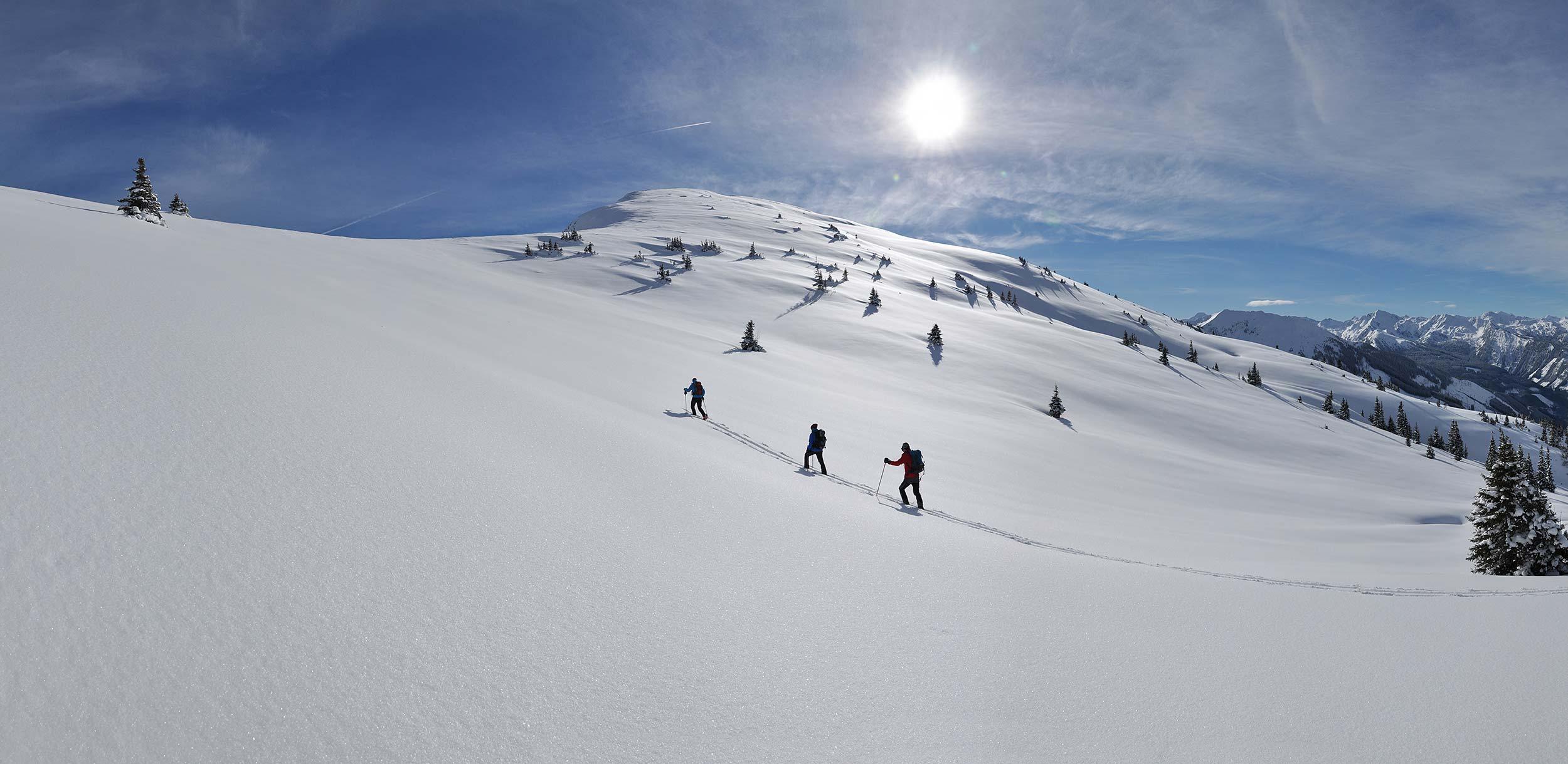 Skitourenkurse für Beginner