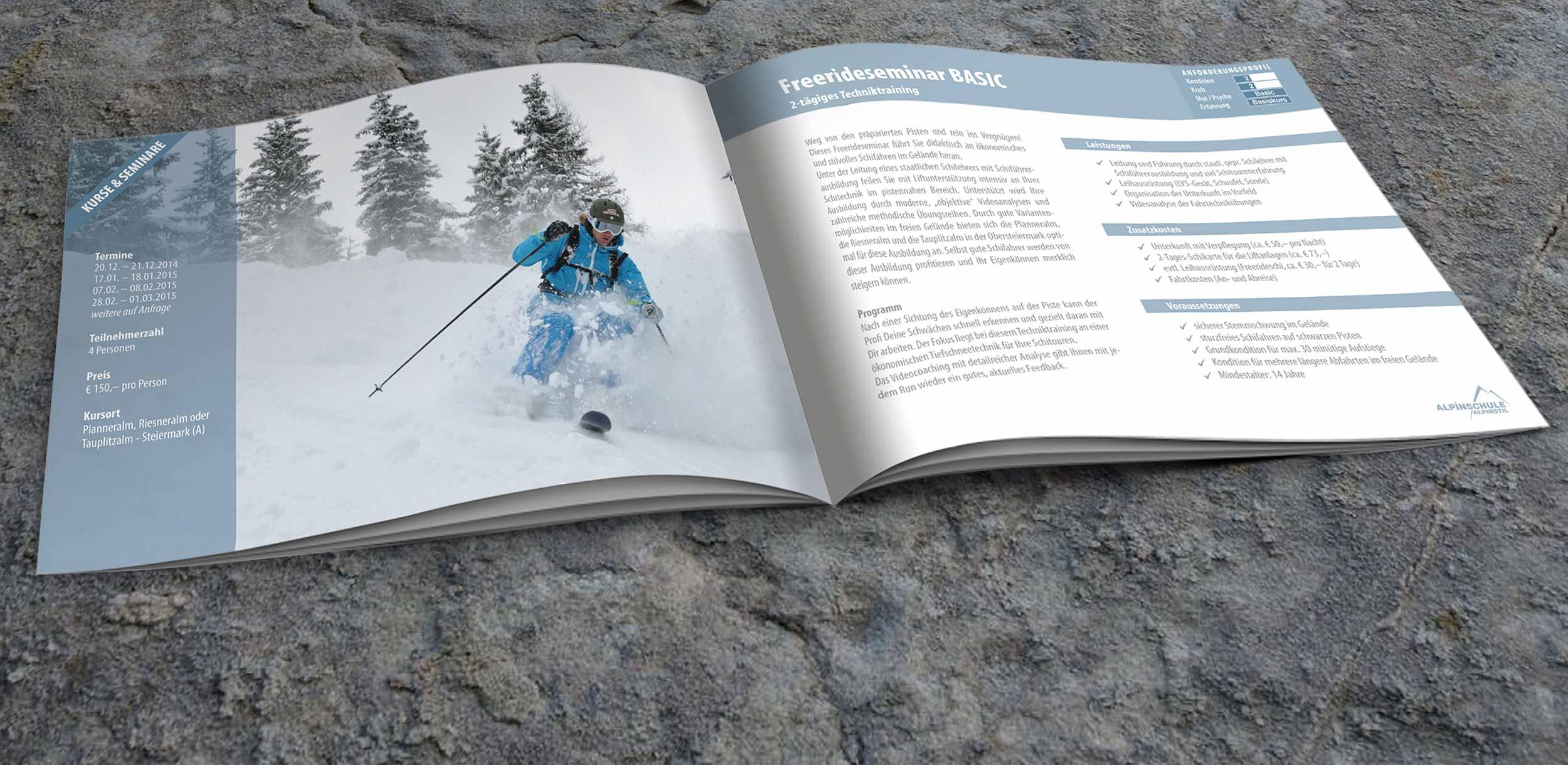 Skitourenkurse-Broschuere
